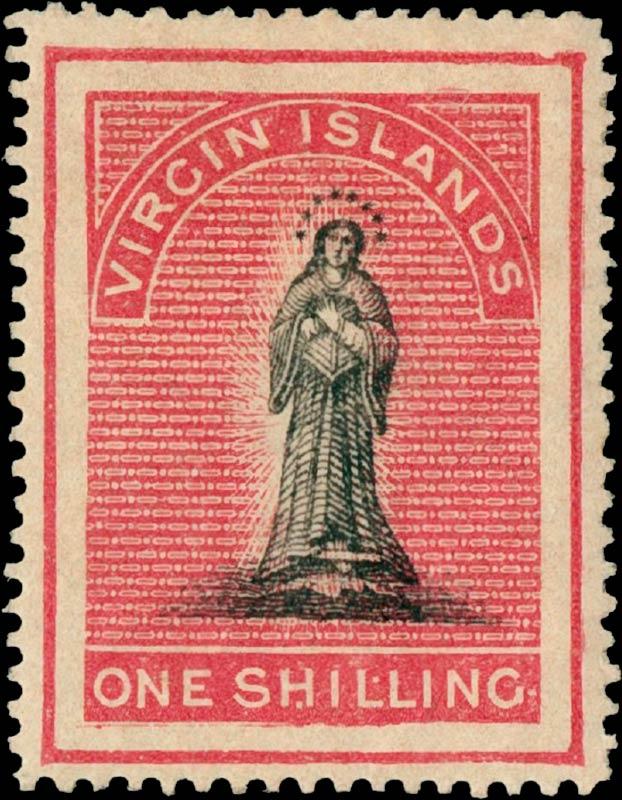 British_Virgin_Islands_1867_St.Ursula_1s_Genuine