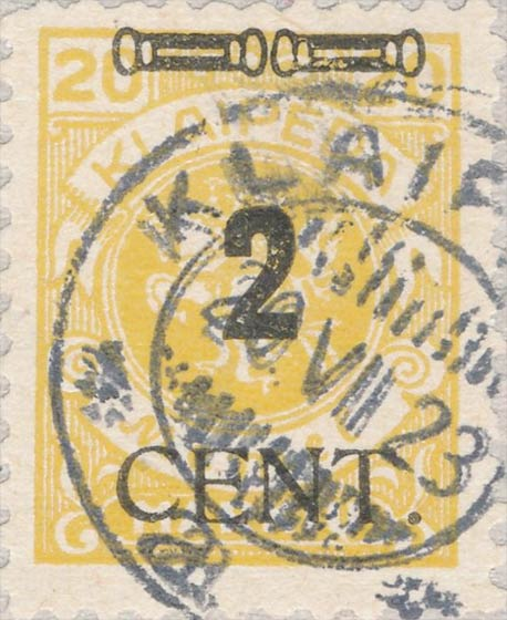Memel_2cent_Forged_Postmark