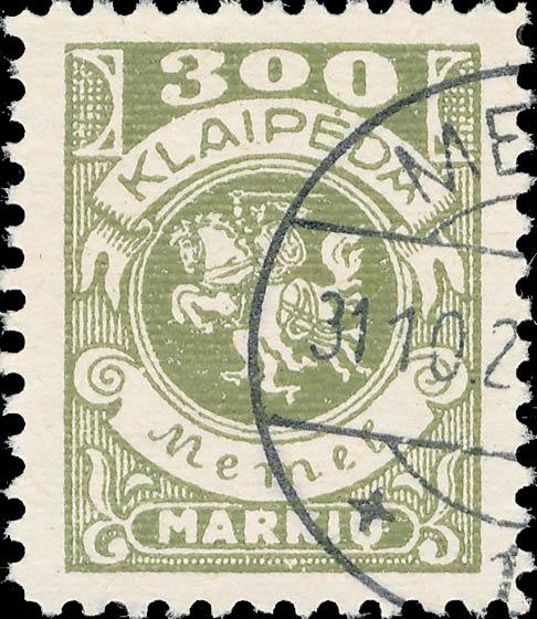Memel_300m_Forged_Postmark