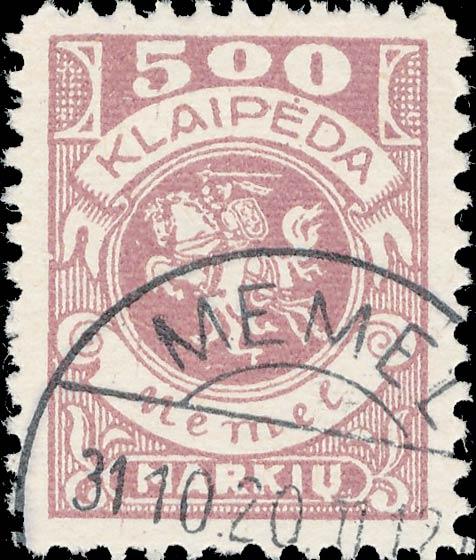 Memel_500m_Forged_Postmark2