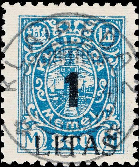 Memel_800m_Forged_Postmark
