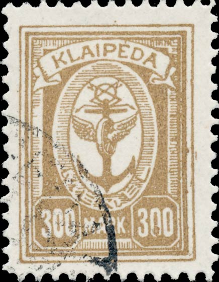Memel_Klaipeda_1923_300mark_Forgery