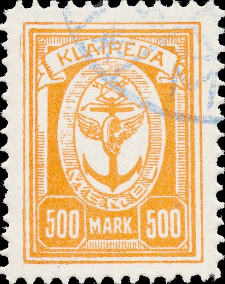 Memel_Klaipeda_1923_500mark_Forgery