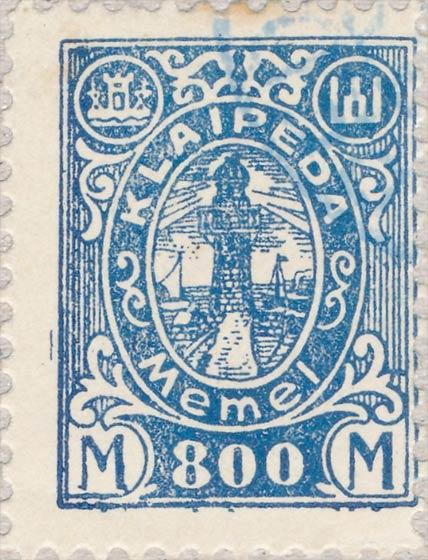 Memel_Klaipeda_1923_800mark_Szekula_Forgery