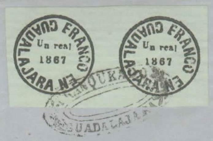 Mexico_1867_Locals_Guadalajara_1r_Forgery