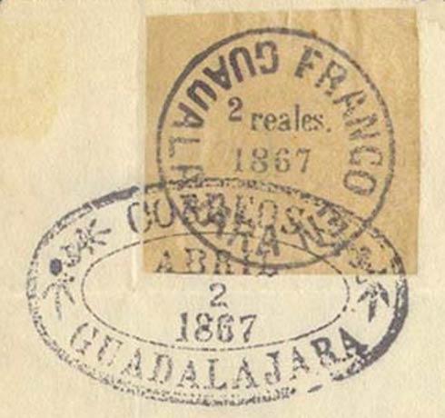 Mexico_1867_Locals_Guadalajara_2r_Forgery