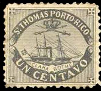 Puerto_Rico_1869_St.Thomas_Clara-Rothe_1c_Bogus