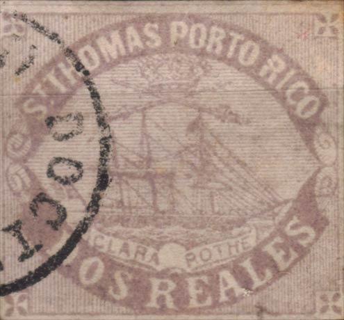 Puerto_Rico_1869_St.Thomas_Clara-Rothe_2r_Bogus_Forgery