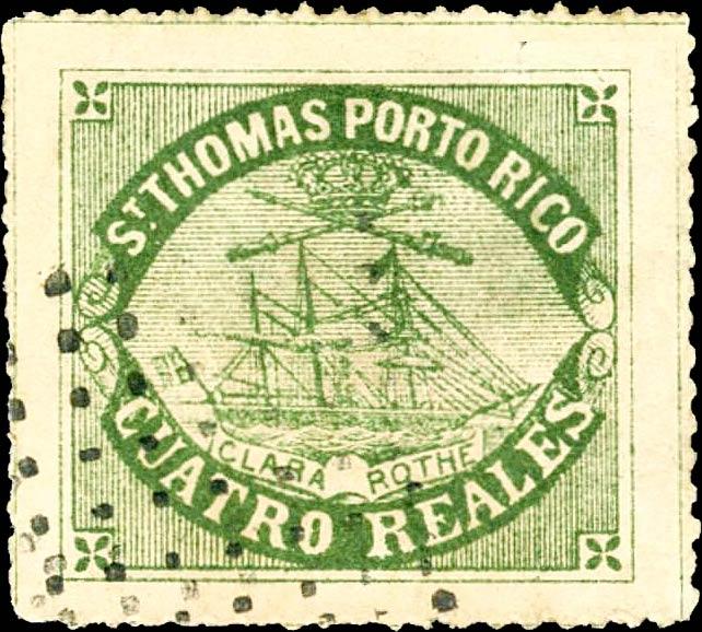 Puerto_Rico_1869_St.Thomas_Clara-Rothe_4r_Bogus_Forgery2