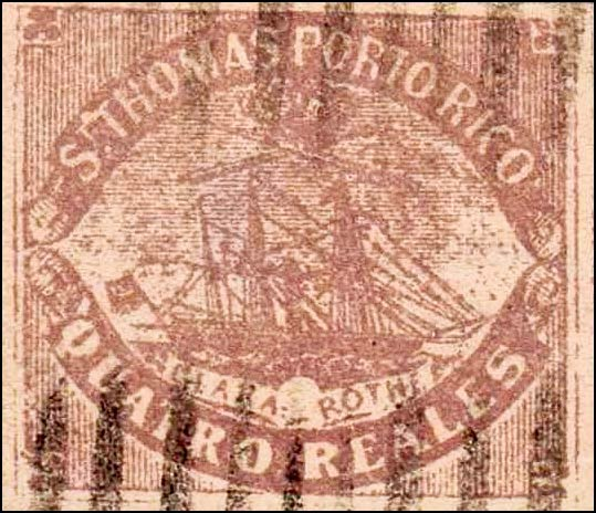 Puerto_Rico_1869_St.Thomas_Clara-Rothe_4r_Bogus_Forgery3