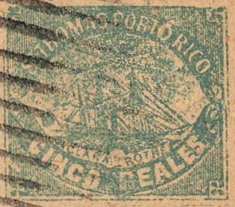 Puerto_Rico_1869_St.Thomas_Clara-Rothe_5r_Bogus_Forgery