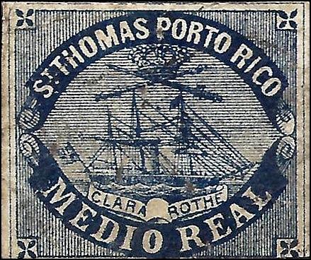 Puerto_Rico_1869_St.Thomas_Clara-Rothe_mr_Bogus_Forgery