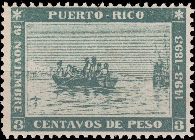 Puerto_Rico_1893_Landing-of-Colombus_3c_Forgery2