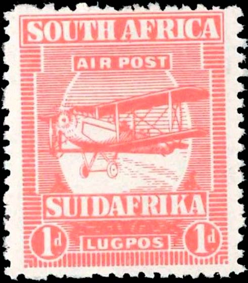South_Africa_1925_Airmail_1d_Forgery