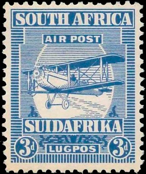 South_Africa_1925_Airmail_3d_Genuine