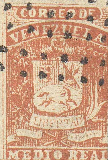 Venezuela_1859_Coat-of-Arms_Medio_Real_Forgery