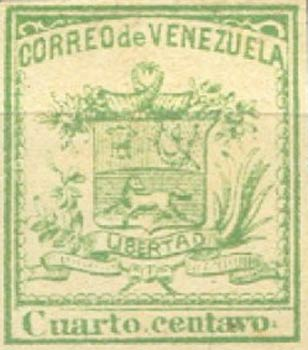 Venezuela_1862_Coat-of-Arms_Cuarto_Centavo_Forgery2