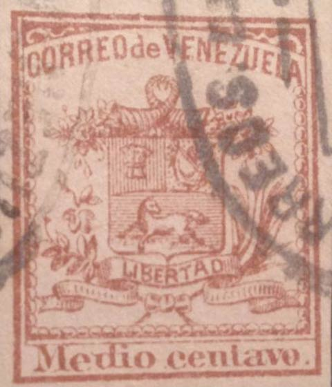 Venezuela_1862_Coat-of-Arms_Medio_Centavo_Forgery