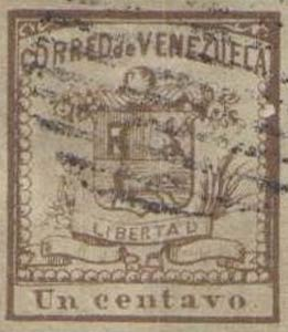 Venezuela_1862_Coat-of-Arms_Un_Centavo_Forgery