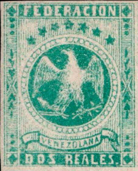 Venezuela_1863_Eagle_Dos_Reales_Genuine