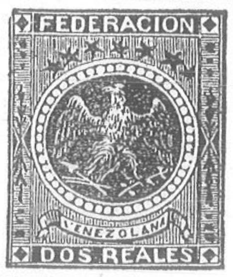 Venezuela_1863_Eagle_Dos_Reales_Torres_illustration