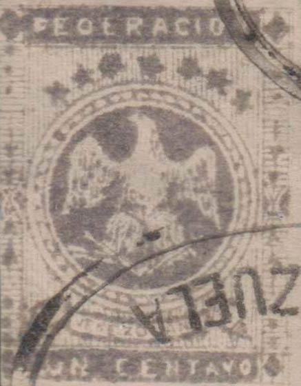 Venezuela_1863_Eagle_Un_Centavo_Forgery