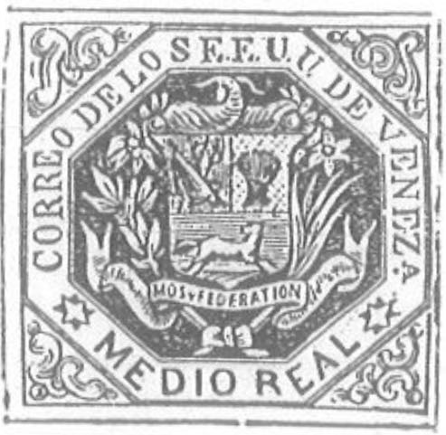 Venezuela_1865_Coat-of-Arms_Medio_Real_Torres_illustration