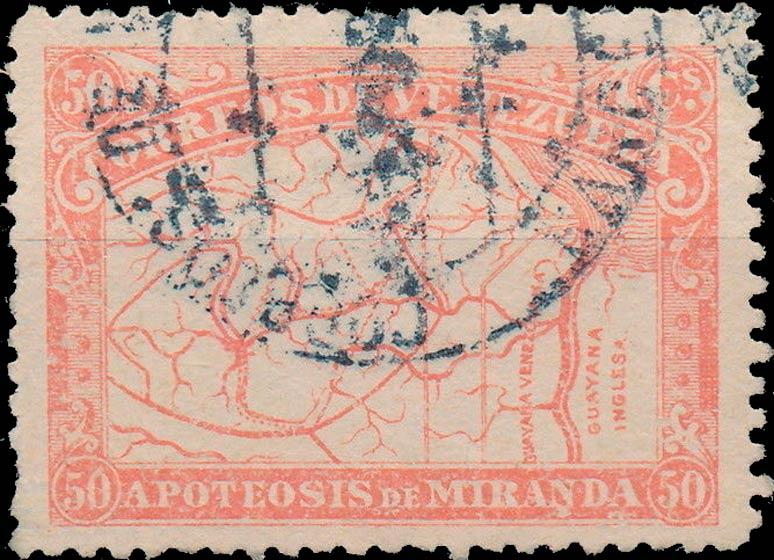 Venezuela_1896_Apoteosis-de-Miranda_50c_Forgery
