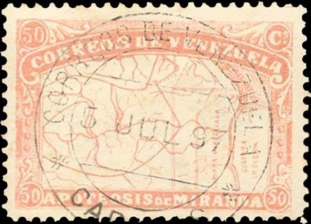 Venezuela_1896_Apoteosis-de-Miranda_50c_Forgery2