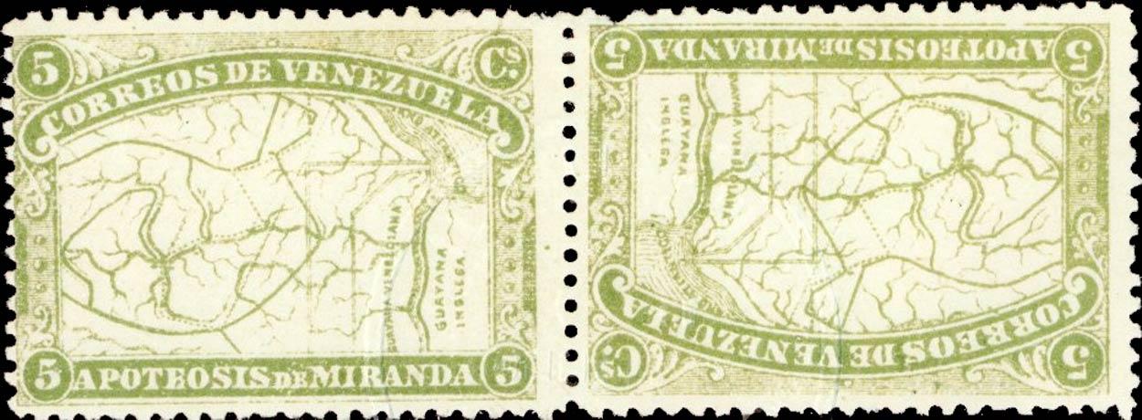 Venezuela_Apoteosis-de-Miranda_5c_Reprint