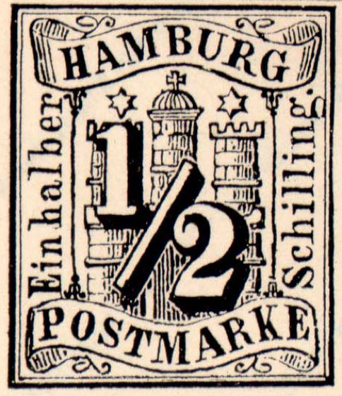 Hamburg_1859_Michel_1_Fournier_Forgery