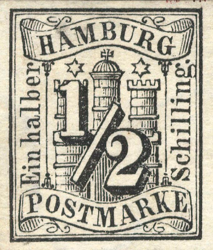 Hamburg_1859_Michel_1_Genuine