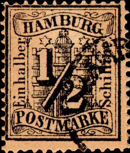 Hamburg_1864_Michel_10_Fournier_Forgery