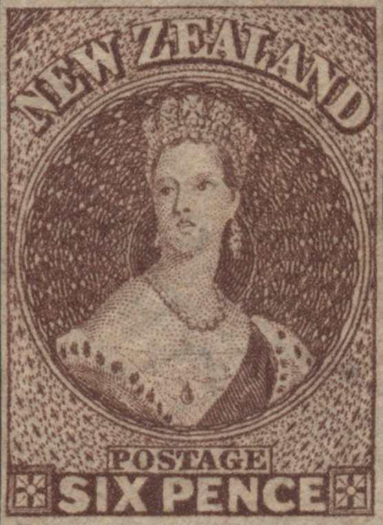 New_Zealand_1861_Chalon_6p_Genuine
