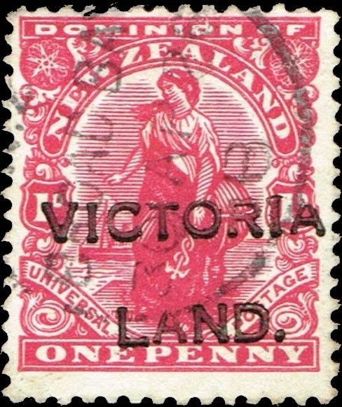 New_Zealand_1910_1p_Victorialand_Forgery