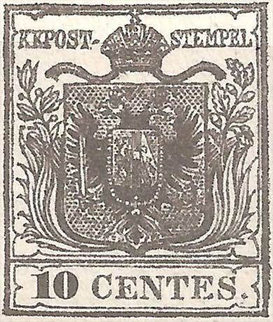 Lombardy-and-Venetia_1850_Coat-of-Arms_10c_Forgery2