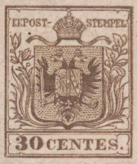Lombardy-and-Venetia_1853_Coat-of-Arms_30c_Verona_Postal_Forgery