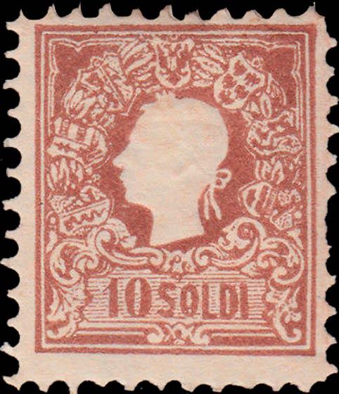 Lombardy-and-Venetia_1858_Franz_Joseph_10s_Reprint