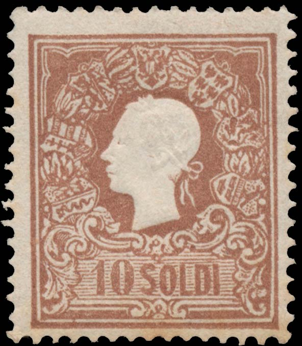 Lombardy-and-Venetia_1858_Franz_Joseph_10s_Type-I_Genuine