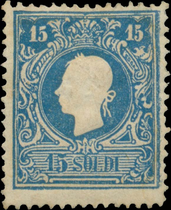 Lombardy-and-Venetia_1858_Franz_Joseph_15s_Type-II_Genuine