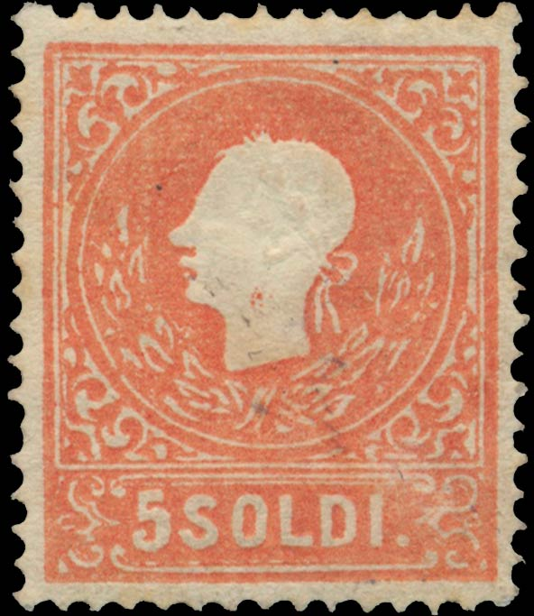 Lombardy-and-Venetia_1858_Franz_Joseph_5s_Type-II_Genuine
