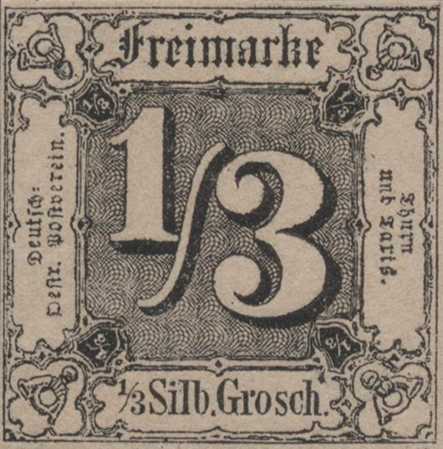 Thurn_und_Taxis_1852_1-3Sgr_Genuine