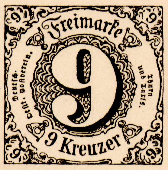 Thurn_und_Taxis_1852_Mi10_9Kr_Fournier_Forgery