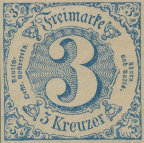 Thurn_und_Taxis_1852_Mi21P_3Kr_Essay_Genuine