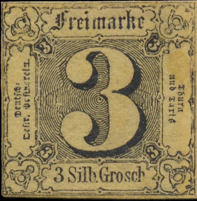 Thurn_und_Taxis_1852_Mi6a_3Sgr_Genuine