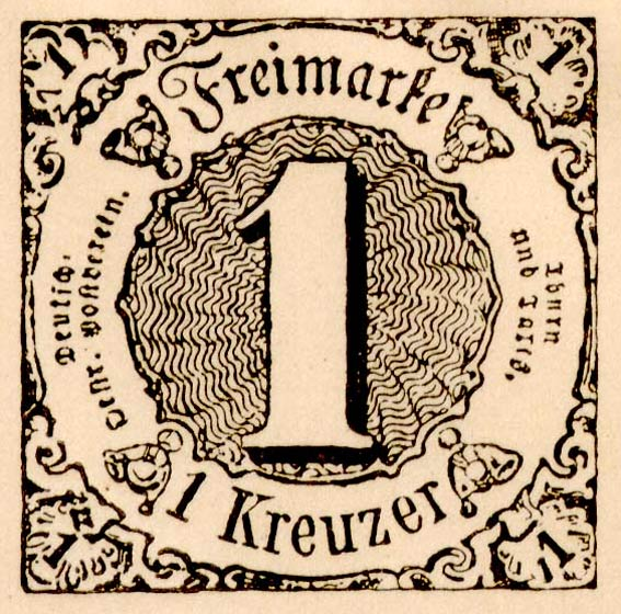 Thurn_und_Taxis_1852_Mi7a_1Kr_Fournier_Forgery