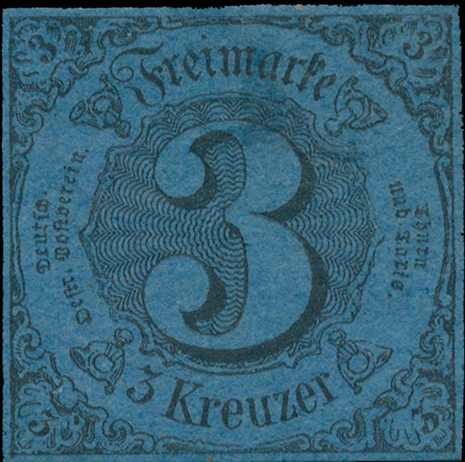 Thurn_und_Taxis_1852_Mi8_3Kr_Genuine