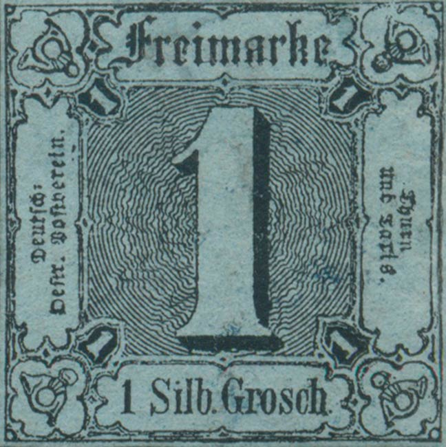 Thurn_und_Taxis_1853_Mi11a_1Sgr_Genuine