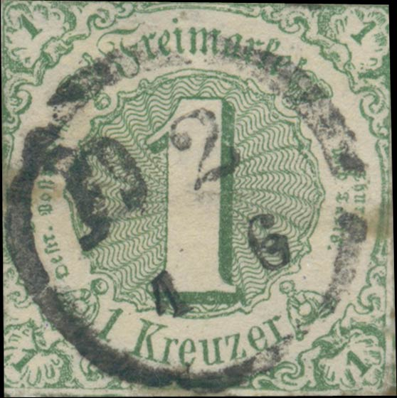 Thurn_und_Taxis_1859_Mi20_1Kr_Genuine