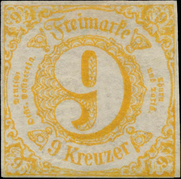 Thurn_und_Taxis_1860_Mi23_9Kr_Genuine